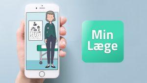 Nu kan du igen bestille tid, benytte videokonsultation m.m. i SmartPhone App'en MinLæge